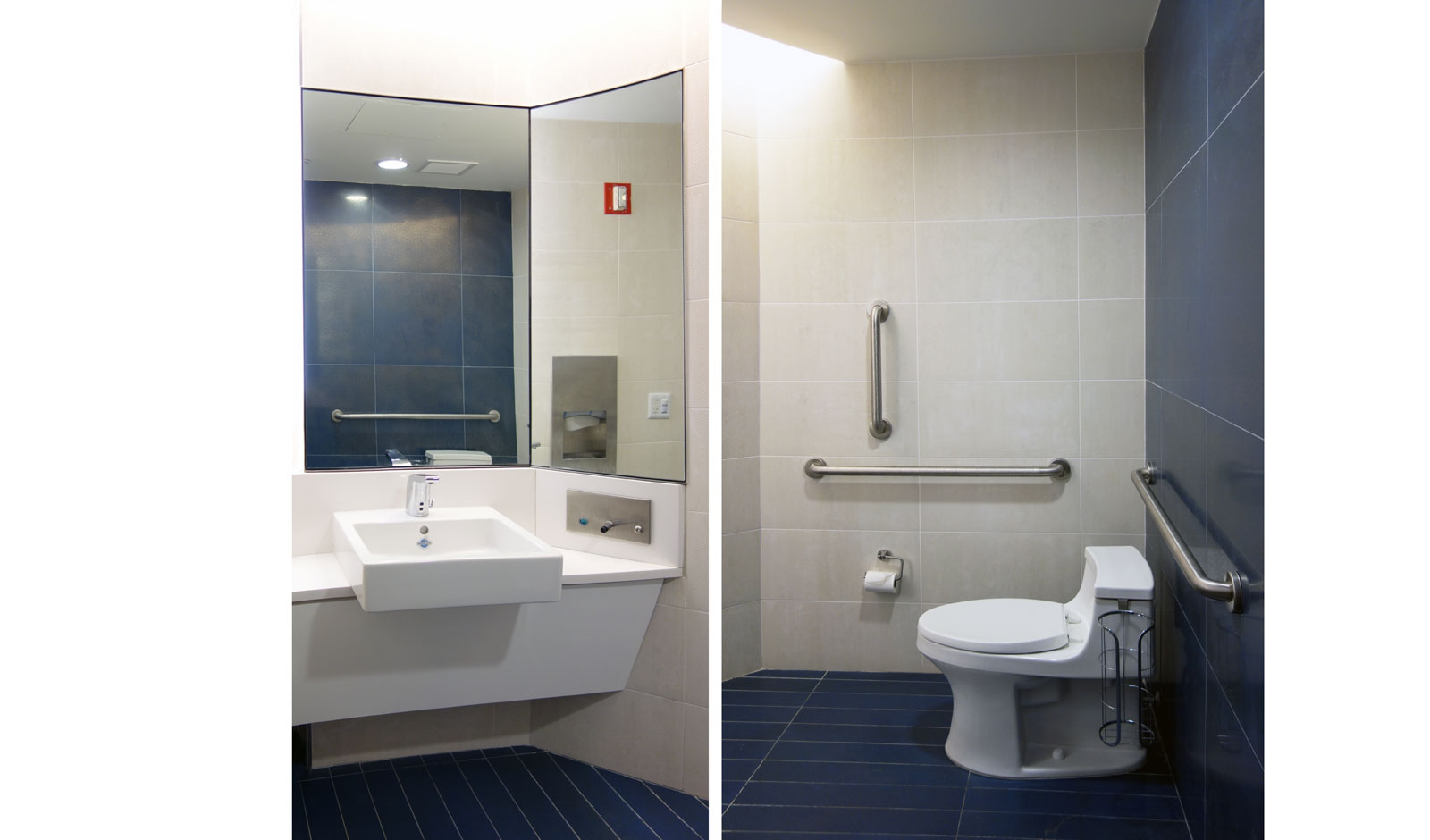 accessible private bathroom design
