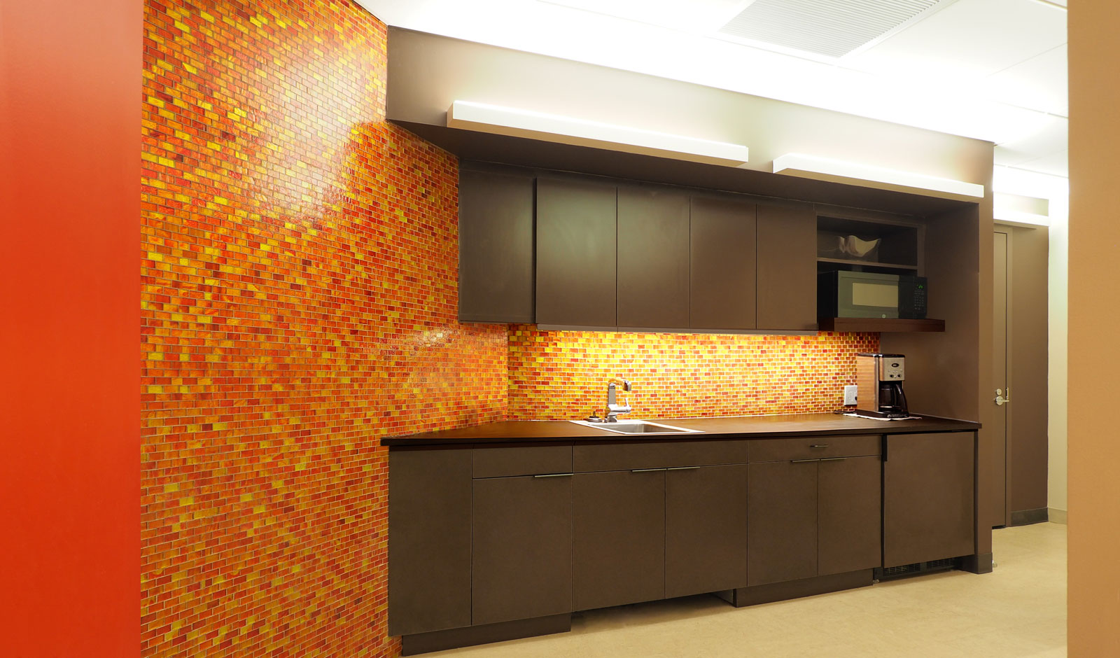 office pantry and lunch room design